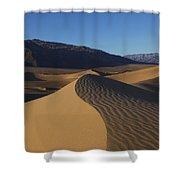 Mesquite Dunes Death Valley 1 Shower Curtain
