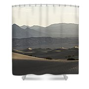 Mesquite Dunes Sunrise Shower Curtain
