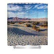 Mesquite Flat Dunes Shower Curtain