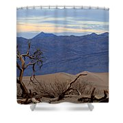Mesquite Flat Sand Dunes Stovepipe Wells Death Valley Shower Curtain