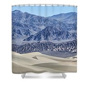 Mesquite Sand Dunes Shower Curtain