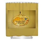 Message Of Love Shower Curtain