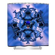 Messing With Mandelbrot  Shower Curtain