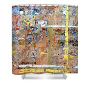 Messy Background Shower Curtain