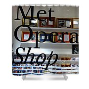 Met Opera Shop Shower Curtain