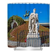 Metairie Cemetery 2 Shower Curtain
