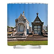 Metairie Cemetery 4 Shower Curtain
