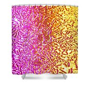Metal Abstract Shower Curtain