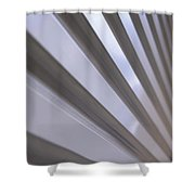 Metal Perspective Texture Shower Curtain