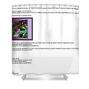 Metal Pictures Read Me Shower Curtain