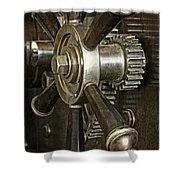 Metals Bank Door Shower Curtain