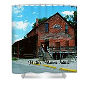 Metamora Grist Mill Shower Curtain
