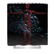 Metamorphosis Shower Curtain by Jack Zulli