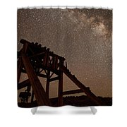 Meteor At Bodie Shower Curtain