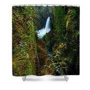 Metlako Falls Shower Curtain