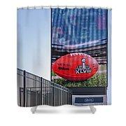 Metlife Stadium Box Office Shower Curtain