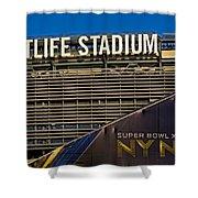 Metlife Stadium Super Bowl Xlviii Ny Nj Shower Curtain