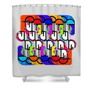 Metropolis Shower Curtain
