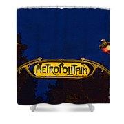 Metropolitain #1 Shower Curtain