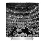 Metropolitan Opera House 1937 Shower Curtain