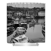Mevagissey Cornwall Shower Curtain