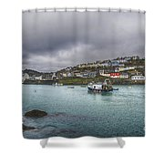 Mevagissy Cornwall Shower Curtain