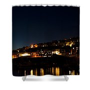 Mevagissy Nights Shower Curtain
