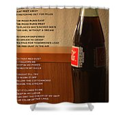 Mexican Coke Shower Curtain