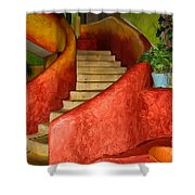 Mexican Colors Shower Curtain