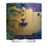 Mexican Courtyard Shower Curtain