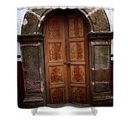 Mexican Door 56 Shower Curtain
