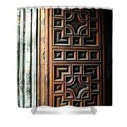 Mexican Door 64 Shower Curtain