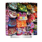 Mexican Purses Shower Curtain