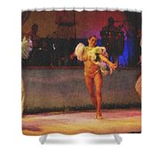 Mexican Traditional Dancers Shower Curtain