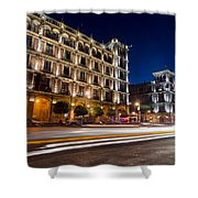 Mexico City At Night Shower Curtain