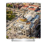 Mexico City Fine Arts Museum Shower Curtain by Jess Kraft