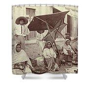 Mexico Market, C1915 Shower Curtain
