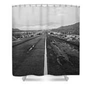 Mexico Route 3 Shower Curtain