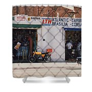 Mexico Tiendas Shops By Tom Ray Shower Curtain