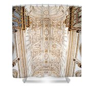 Mezquita Cathedral Ceiling In Cordoba Shower Curtain