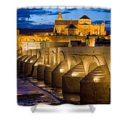 Mezquita Cathedral In Cordoba Shower Curtain