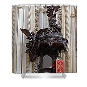 Mezquita Cathedral Pulpit In Cordoba Shower Curtain