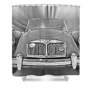 Mg Mga Sports Car Shower Curtain