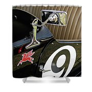 Mg Racer Shower Curtain