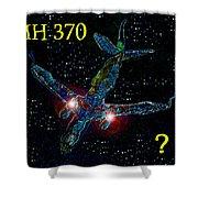 Mh 370 Mystery Shower Curtain