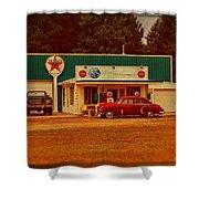 Mi Cr B15 Texaco Shower Curtain