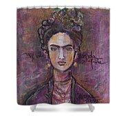 Mi Vida Mi Frida Shower Curtain