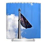 Mia/pow Flag Shower Curtain
