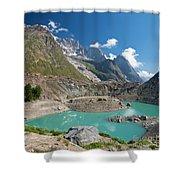 Miage Lake Shower Curtain