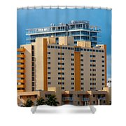 Miami Apartments Shower Curtain